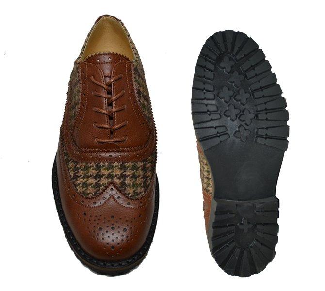 "Sapato brogue ""Heavy"""